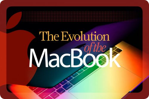 The evolution of the MacBook