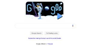 Google celebrates Apollo 11 lunar landing with one of its best Search Doodles yet