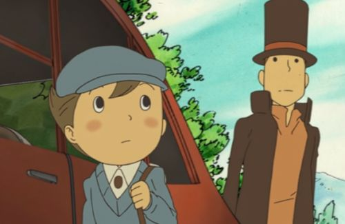 Professor Layton and the Curious Village heads to iOS and Android today