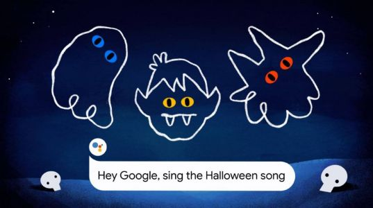 Google's 2020 Halloween treats: AR ghosts, spooky ringtones, magic cats