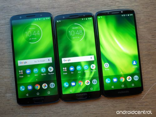 Moto G6, G6 Play, and G6 Plus specs