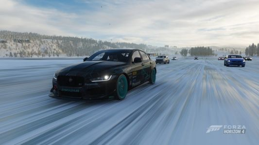 How to get some icy drag racing going in Forza Horizon 4