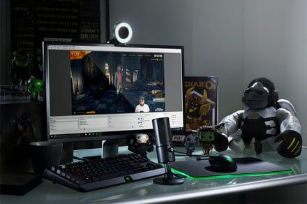Create spiffy video game streams using the new Razer webcam and mic
