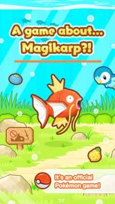 Magikarp Jump splashes onto Android worldwide