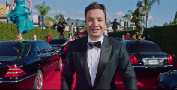 Jimmy Fallon's show for Monday night was shot entirely with a Samsung Galaxy S10+