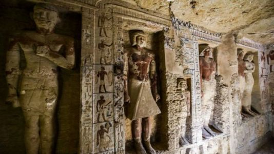 Untouched, 4,400-Year-Old Tomb Discovered in Egypt