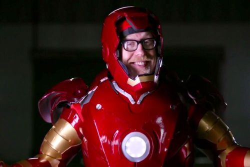 Watch Adam Savage make a flying Iron Man suit in his new show, Savage Builds