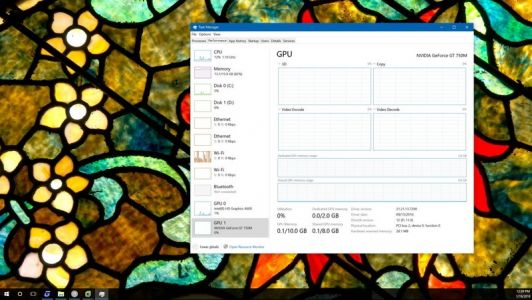 How to track GPU performance data on Windows 10