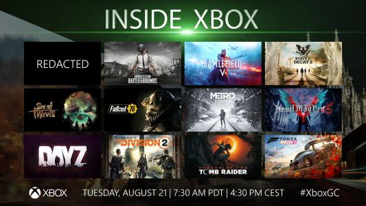 Watch Xbox's Gamescom event right here at 10:30AM ET!
