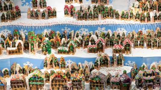 WTF? Wednesday: Feast Your Eyes on the World's Largest Gingerbread Village