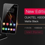 Oukitel K6000 Plus gets new Matte Black edition and software upgrade