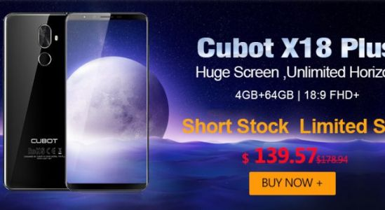 Best Selling Cubot X18 Plus Now $20 Cheaper - Only $139.99