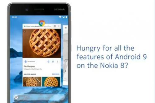 Nokia 8 now getting Android 9 Pie beta update