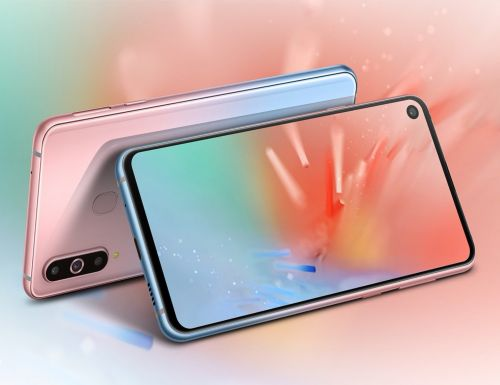 Samsung Galaxy A8s will be available in two new gradient colors