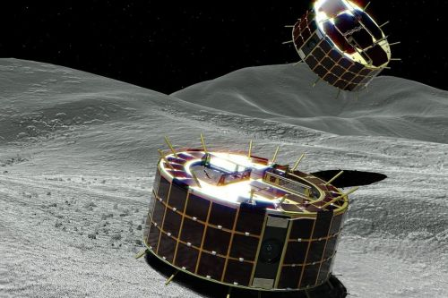 A Japanese spacecraft just threw two small rovers at an asteroid