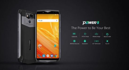 13.000 mAh Ulefone Power 5 gets the official launch