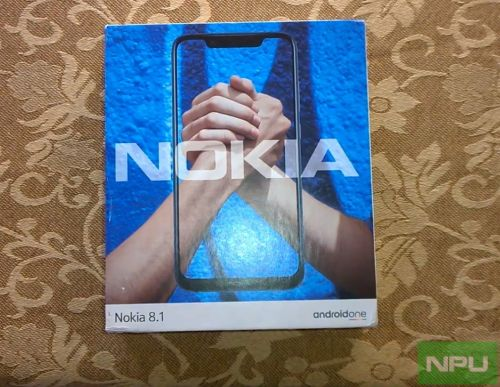 Nokia 8.1 unboxing, design & build quality impressions