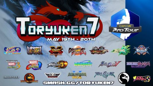 Toronto's own FGC major, Toryuken 7, is offering competition in 20 different titles on May 19-20