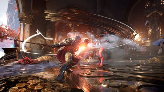 Godfall digs deep into combat details and weapon types
