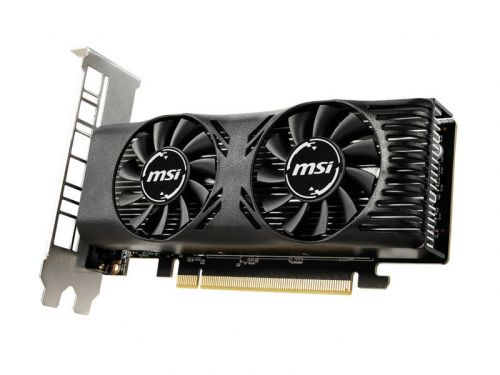 MSI announces low-profile GeForce GTX 1650 for compact PC builds