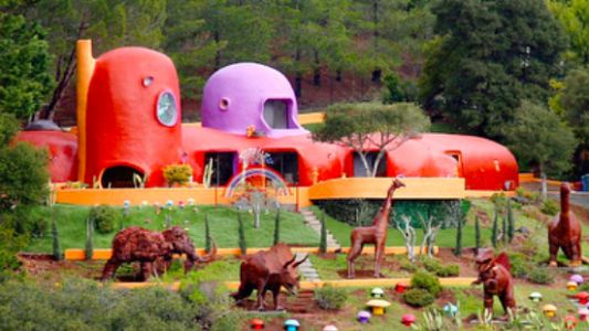 Town Finds Quirky 'Flintstone House' Annoying and Sues Its Owner