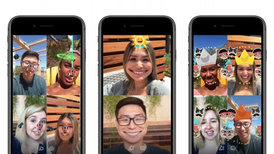 Facebook adds augmented reality games to Messenger video chats