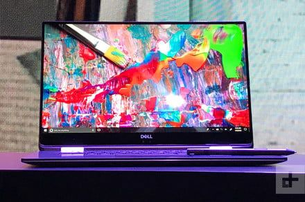 """Dell's Frank Azor calls the Gore material used in the XPS 13 """"magic"""""""