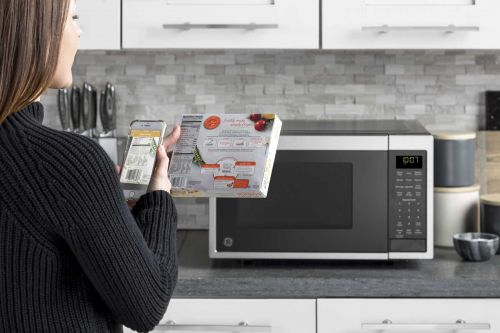 GE's Alexa microwave cooks when you scan a barcode