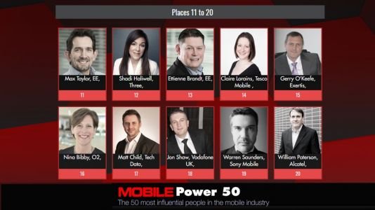 Mobile Power 50 - 20 to 11 official rankings announced