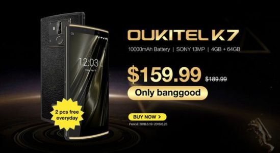 Check out the performance video for OUKITEL K7, presales starting tomorrow
