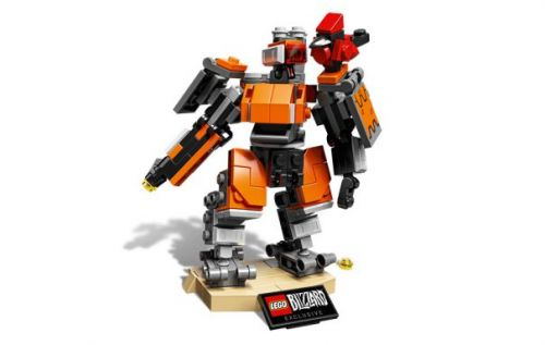 LEGO Overwatch Omnic Bastion arrives as a limited collectible kit