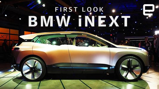 BMW officially unveils its Vision iNext concept SAV