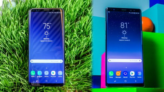 Samsung Galaxy S9 Plus vs Samsung Galaxy Note 8