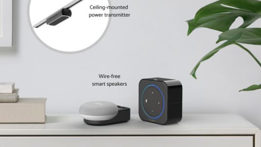 Crazy next-gen accessory lets you wirelessly charge an Echo Dot from across the room