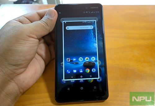Nokia 6 2018: How to take a screenshot
