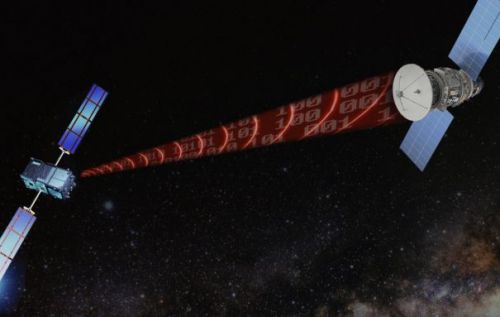 Gravitational waves might be able to transfer data