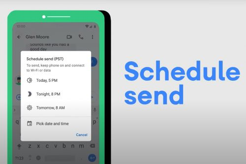 Send texts on your own time with Android's new Schedule Send feature