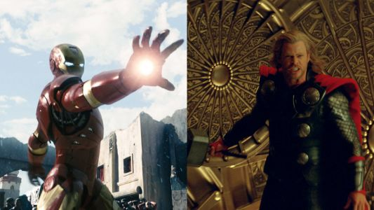 IRON MAN and THOR Films are Being Released in 4K Next Month