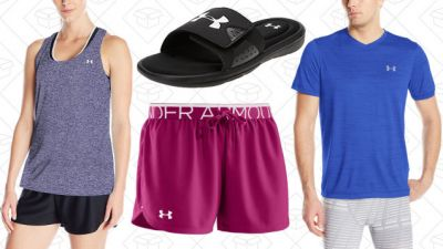 Stuff Your Closet With Under Armour Gear During Amazon's One-Day Sale
