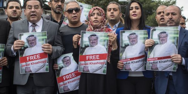 Friend of disappeared journalist Khashoggi says Saudi Arabia likely took Trump's anti-media rhetoric to heart