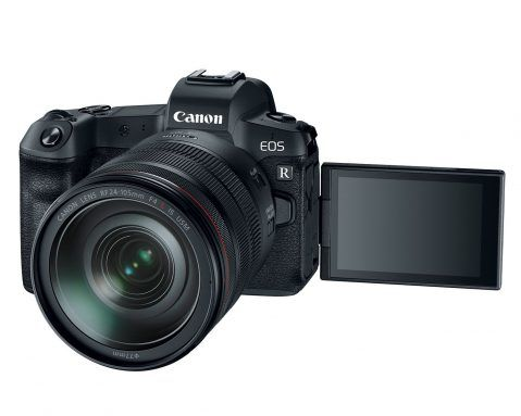 Canon EOS R details in a nutshell