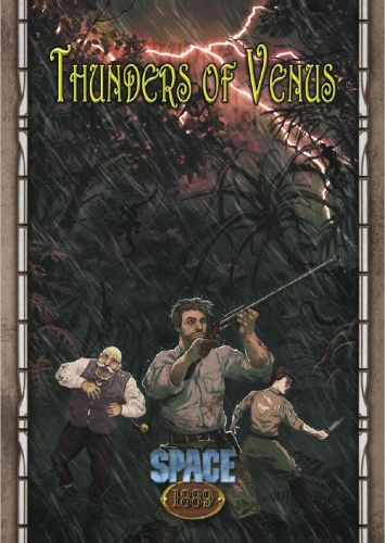 Space 1889: Thunders of Venus Now Available From Modiphius