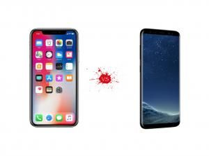 IPhone X vs Galaxy S8 - What's The Difference?
