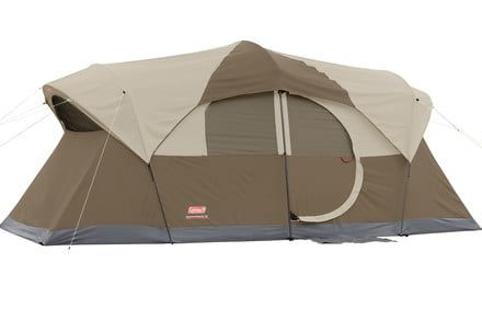 Walmart offers a $35 discount off the Coleman Weathermaster 10-person tent