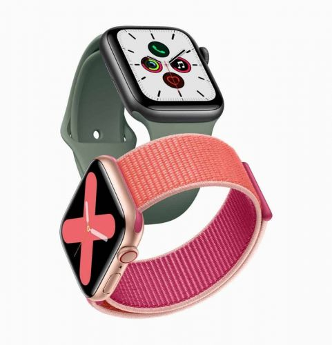 Et voici l'Apple Watch Series 5