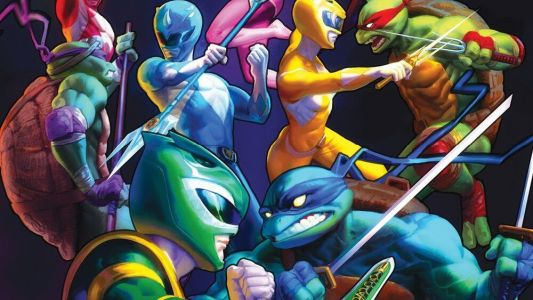 MIGHTY MORPHIN POWER RANGERS/TEENAGE MUTANT NINJA TURTLES 1 Gets a Third Printing, Meaning Fans Get Another Awesome Variant Cover