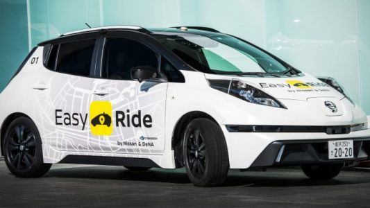 Nissan begins testing self-driving taxi service in Japan