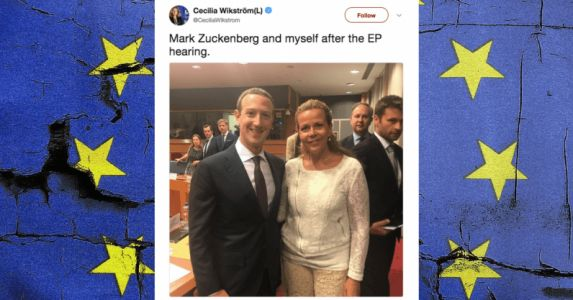 European politician gets ratioed after tweeting a selfie with Zuck