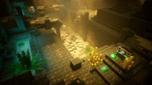 Minecraft Dungeons is a great co-operative dungeon crawler