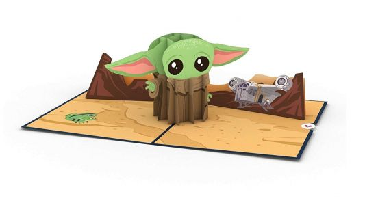 Adorable Baby Yoda Valentine's Day Pop-Up Card Available At Amazon